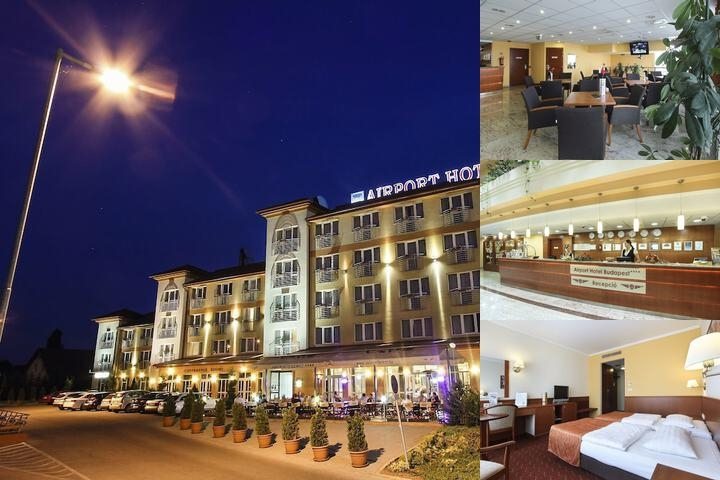 Airport Hotel Budapest photo collage