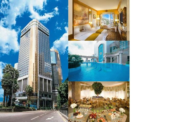 Regal Hongkong Hotel photo collage