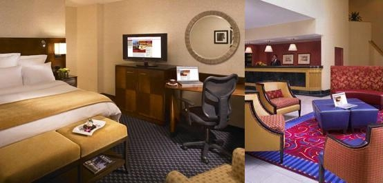 Detroit Marriott Livonia photo collage