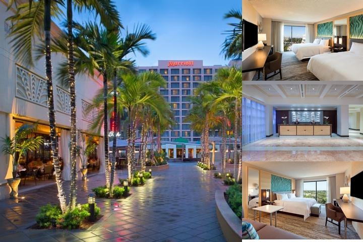 Marriott Boca Raton at Boca Center photo collage