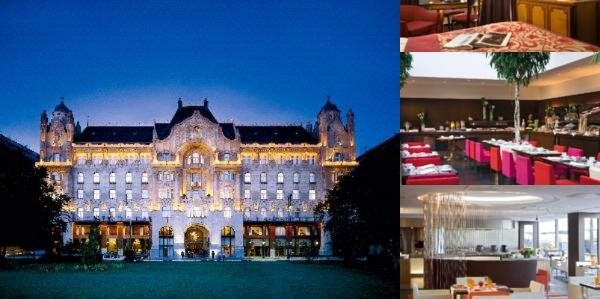 Four Seasons Hotel Gresham Palace Budapest photo collage