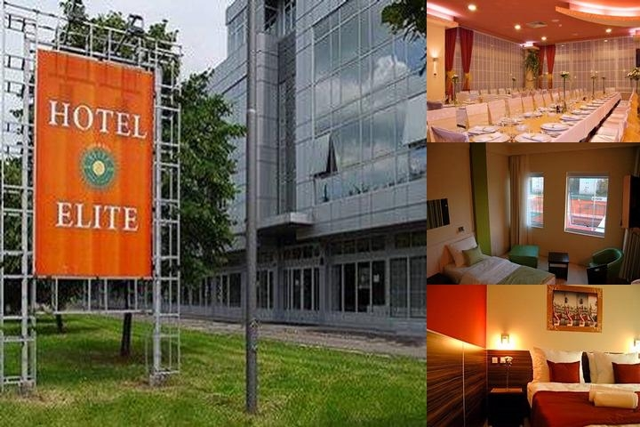 Elite Hotel Novi Sad photo collage