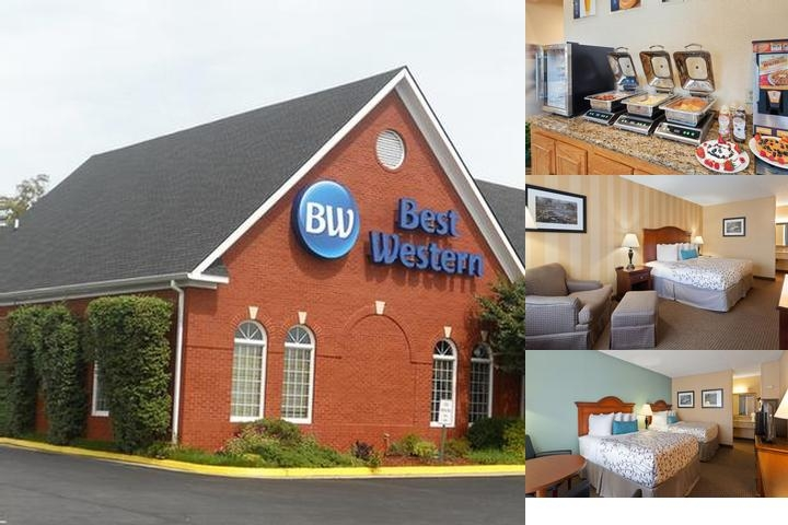 Best Western Fredericksburg photo collage