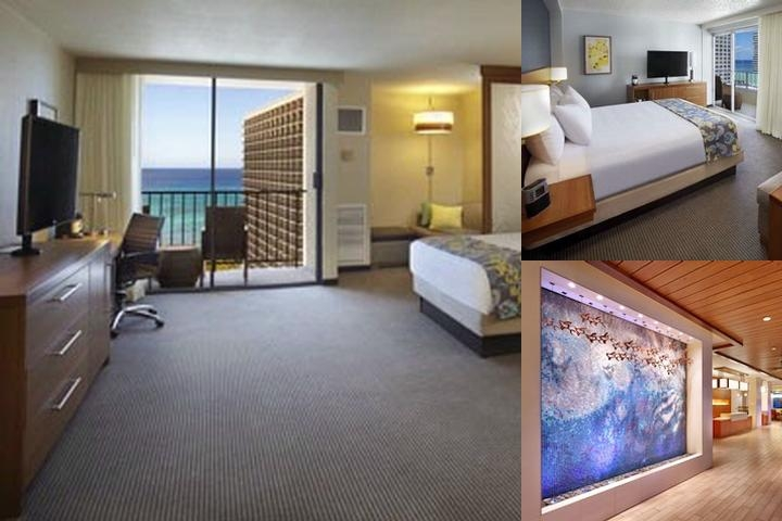 Hyatt Place Waikiki Beach photo collage