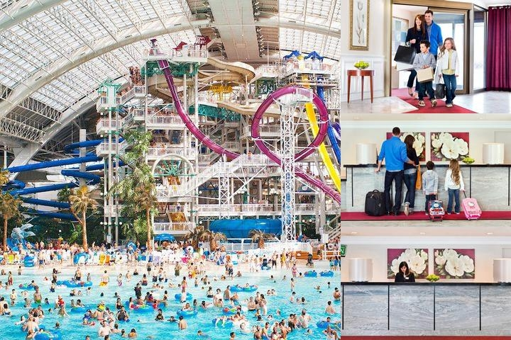 West Edmonton Mall Inn photo collage