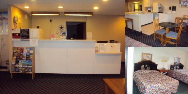 Texas Inn & Suites photo collage