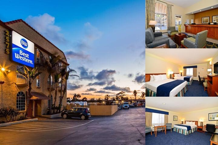 Best Western Mission Bay photo collage