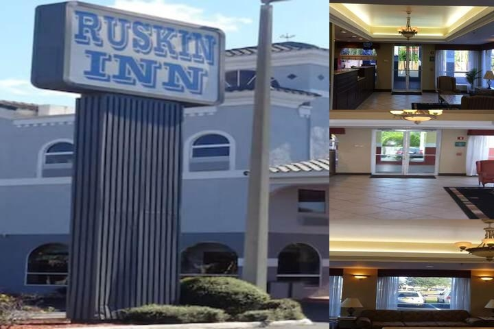 Ruskin Inn photo collage