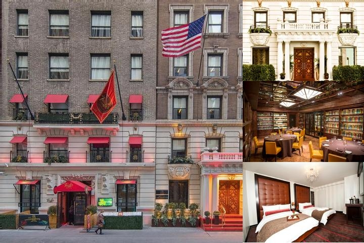 Sanctuary Hotel New York photo collage