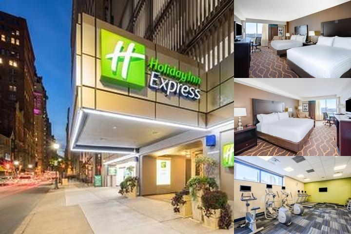 Holiday Inn Express Philadelphia Midtown photo collage