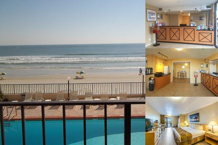 Beachside Motel photo collage