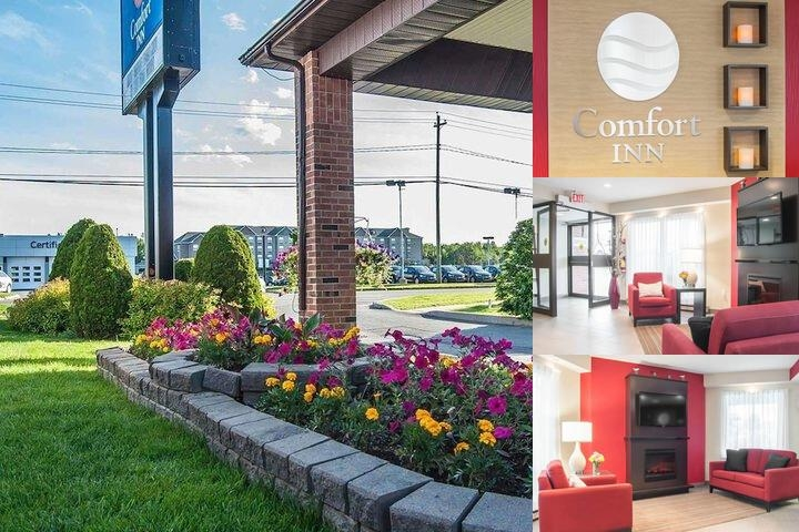 Comfort Inn Fredericton photo collage