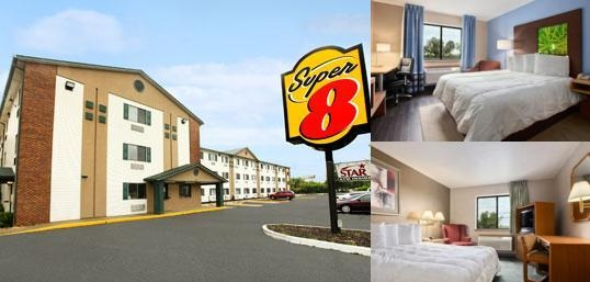 Super 8 Louisville Airport photo collage
