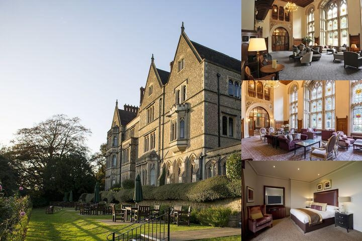 Nutfield Priory Hotel & Spa photo collage