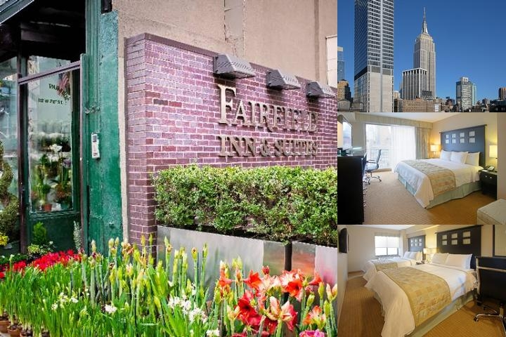 Fairfield Inn & Suites Manhattan Chelsea photo collage