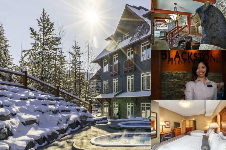 Blackstone Mountain Lodge photo collage
