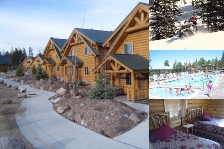 Bear River Lodge photo collage