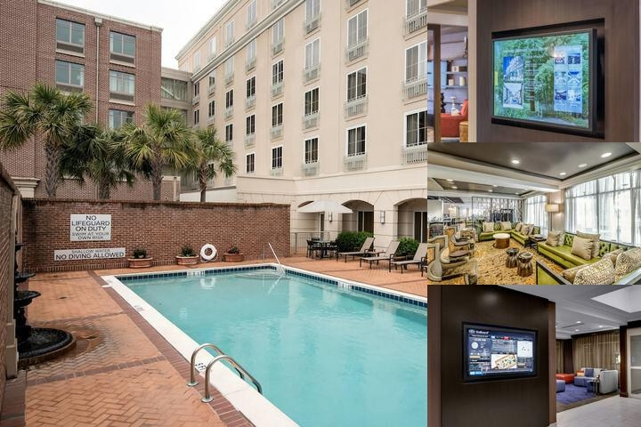 Courtyard by Marriott Historic Charleston photo collage