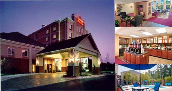 Hampton Inn & Suites Alpharetta Windward photo collage
