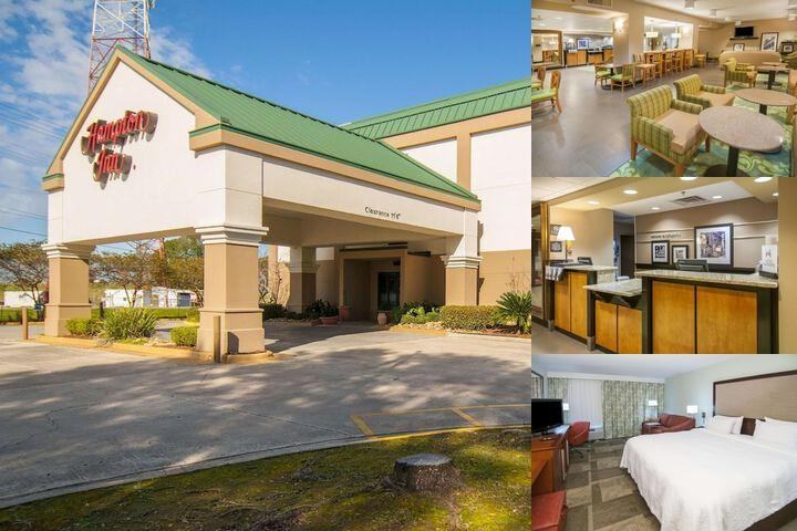 Hampton Inn Lafayette / Scott photo collage