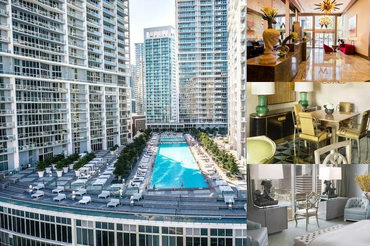 Viceroy Miami photo collage