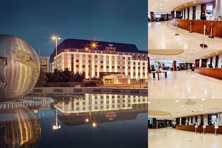 Crowne Plaza Bratislava photo collage