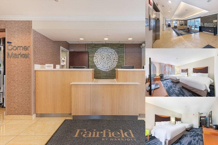 Fairfield Inn & Suites Naperville photo collage