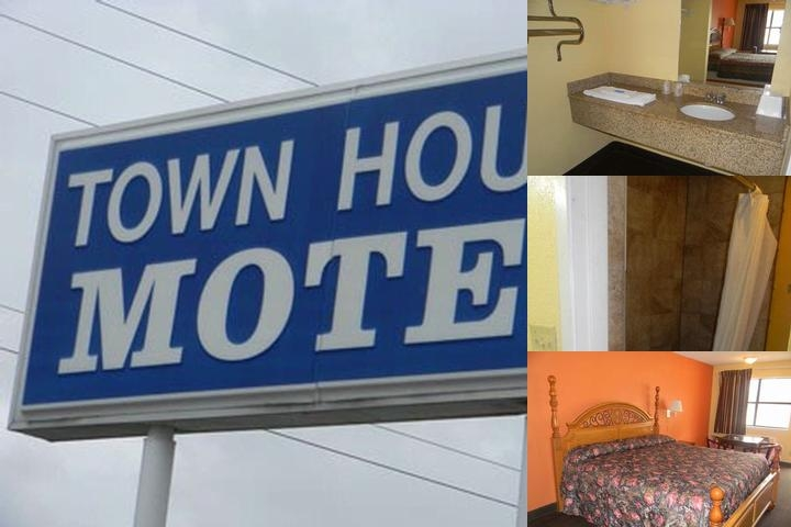 Town House Motel photo collage