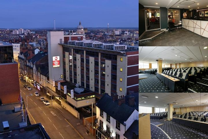 Ramada Nottingham City Centre photo collage