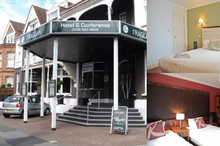 The Raglan Hotel photo collage