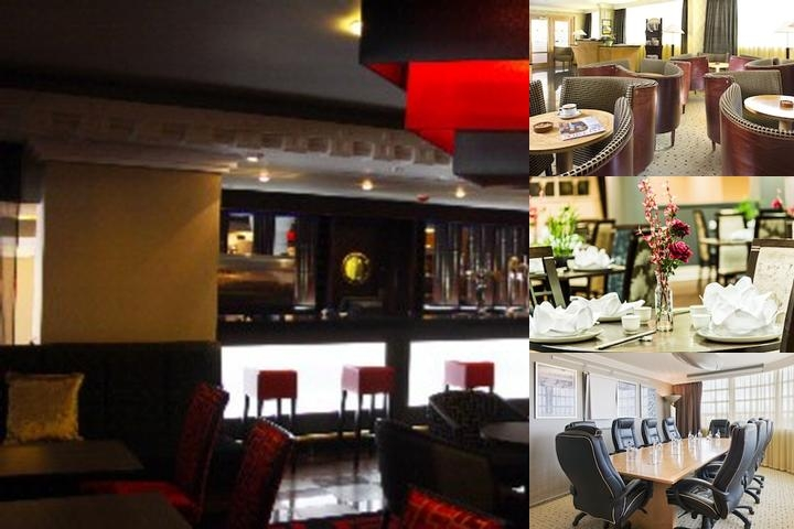 Crowne Plaza Liverpool John Lennon Airport photo collage