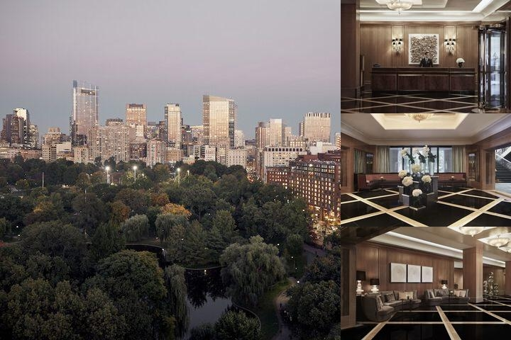 Four Seasons Boston photo collage
