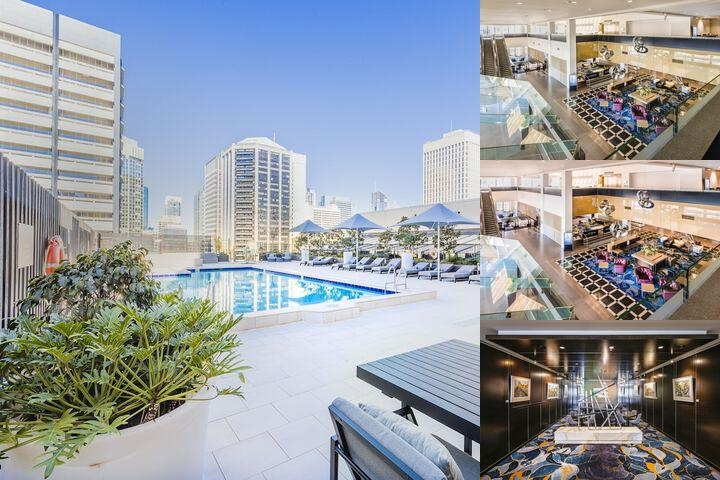 Sofitel Brisbane Central photo collage