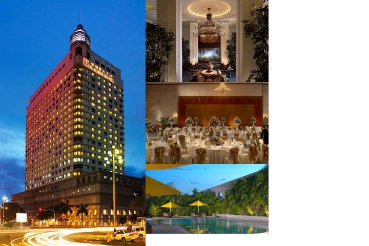 Sule Shangri La Yangon photo collage