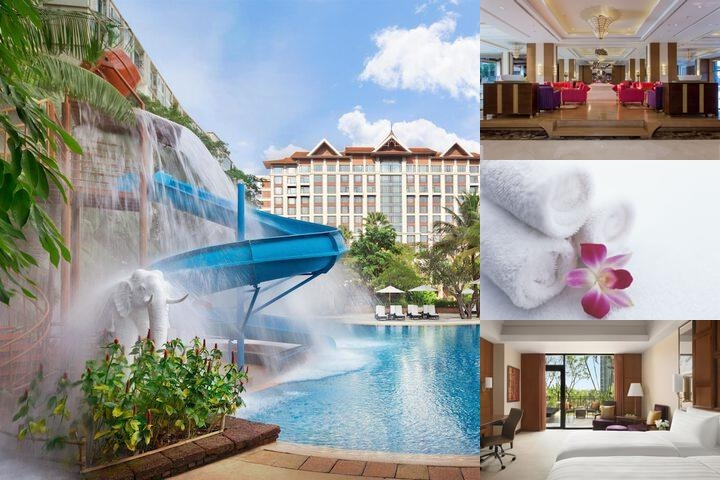 Shangri La Hotel Chiang Mai photo collage