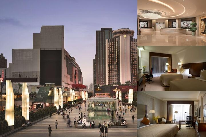 Shangri La Hotel Shenzhen photo collage