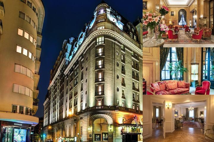 Alvear Palace Hotel photo collage