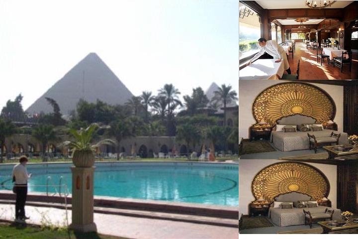 Mena House Hotel photo collage
