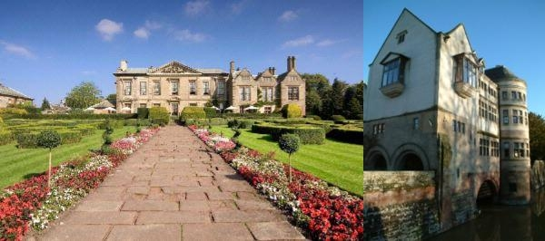 Coombe Abbey Hotel photo collage