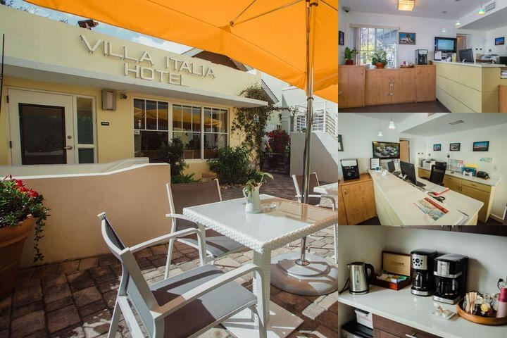 Villa Italia Hotel photo collage