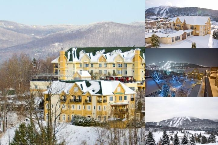 Chateau Bromont photo collage