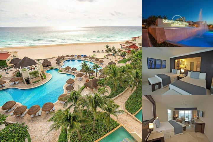 Grand Park Royal Cancun Caribe All Inclusive photo collage