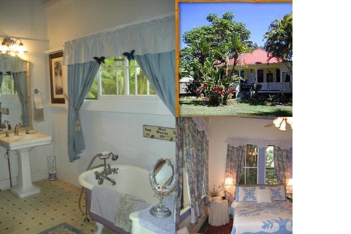 Haiku Plantation Inn photo collage