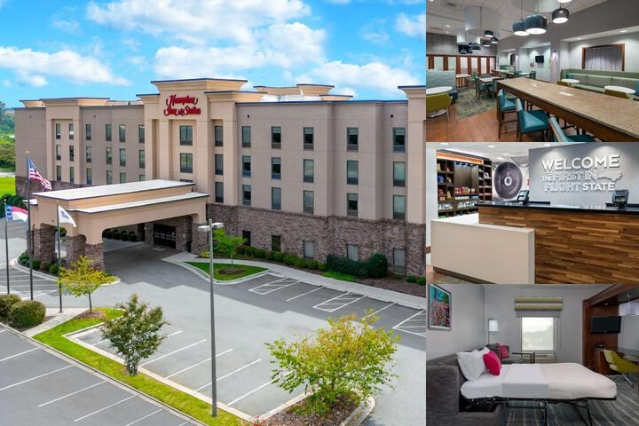 Hampton Inn & Suites Winston Salem / Univ. Area photo collage