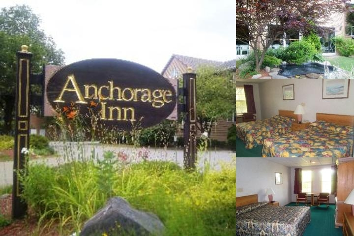 Anchorage Inn Vermont photo collage