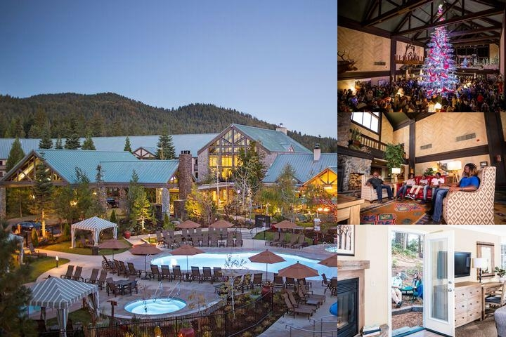 Tenaya Lodge at Yosemite photo collage