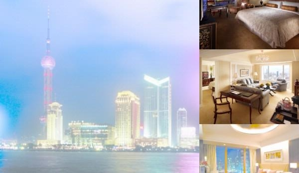 Pudong Shangri La photo collage