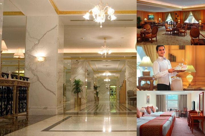 Madinah Moevenpick Hotel photo collage
