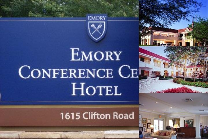 Emory Conference Center Hotel photo collage