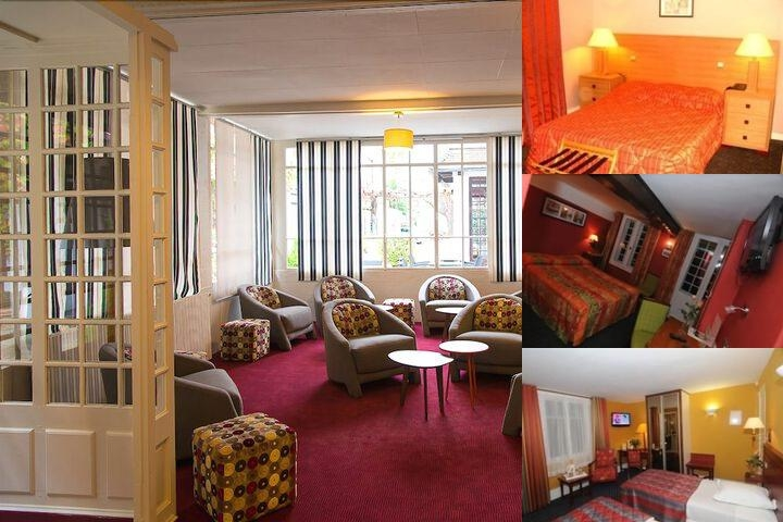 Normandy Hotel photo collage